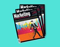 MARKETING MAGAZINE COVER DESIGN - JUNE ISSUE