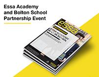 Essa Academy Event Booklet Design