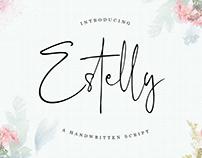 ESTELLY HANDWRITTEN - FREE SCRIPT FONT
