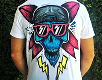 T-Shirt Illustration for O´neill