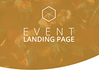 FiveUp - Event Landing Page
