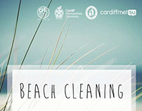 BEACH CLEANING POSTER