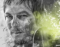 The Walking Dead - Photo Illustrations