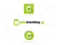 Codemonkey.ai Logo Design