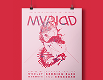 Myriad; Mock Band Poster