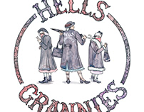 Hells Grannies | Official Monty Python Prints