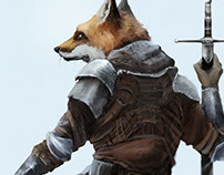 Fox warrior