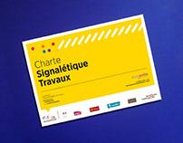 Charte signalétique Travaux