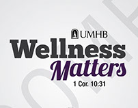 Wellness Matters Logo Design, August 2013