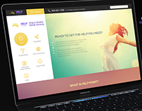 Help Point Website • Free PSD Download