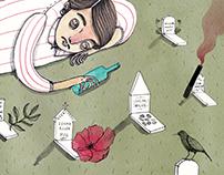 Editorial Illustration for GQ Magazine