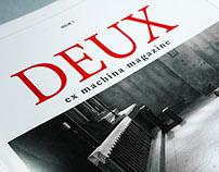 DEUX ex machina magazine