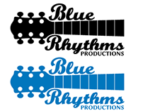 Blue Rhythms Productions Logo