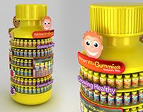 Kids smart vita gummies POSM for Australian Store