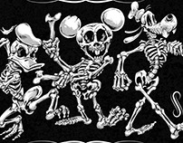 Disney Skeleton Parody