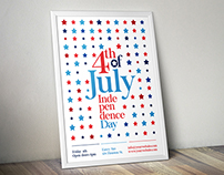 Stars 4th of July Flyer