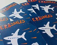 Erasmus exhibition poster & brochure