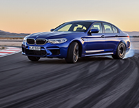 Exterior Design for BMW M5(2018)