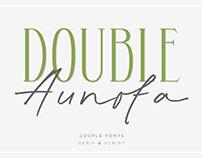 Double Aunofa – Couple Font