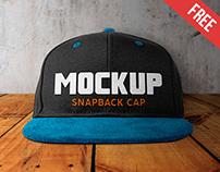 Snapback Cap – 10 Free PSD Mockups