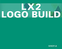 Logo build for Sanofi LX2