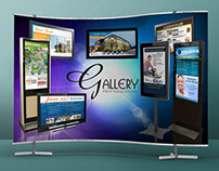 Gallery Digital Signage Wall Banner