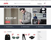 E-Commerce - PSD to Responsive HTML
