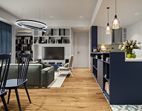 Masteri - Blue Apartment!!