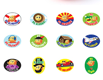 Cuties Collectible Fruit Stickers