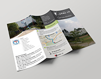 Brochure design for paintball resort in Bangalore