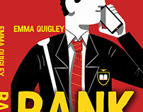 Bank - Book Cover Illustration