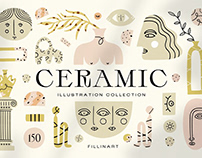 Ceramic — illustration collection