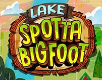 Lake SpottaBigfoot | Game Art