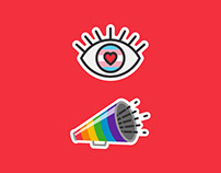 PRIDE STICKERS for INSTAGRAM
