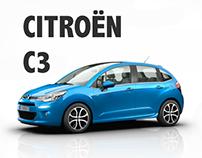Citroën C3 - Print Campaign
