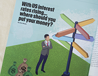 Where to Invest- Magazine article Illustration