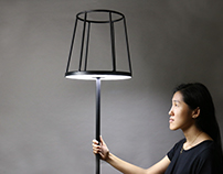 Silhouette Floor Lamp