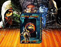 Mortal Kombat. Playing Cards Concept