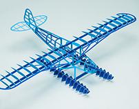 Piper Cub free paper model