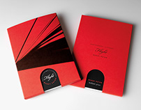 Accordion Fold Photography Book in Custom Slipcase