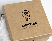 Lighting Logo & Icons, Branding Templates