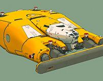 Space ship 2D