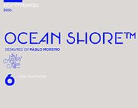 Ocean Shore family font