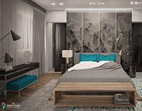 Bedroom at Belashtica