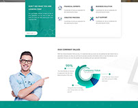 Financial HTML5 Business Template