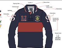 RUGBY POLOS