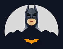 Super heroes icon design(flat series 3)