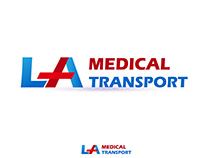 Logo: LA Medical Transport