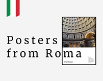 Posters from Roma