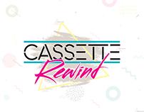 CASSΞTTΞ RΞWIND '80s BAND - Branding & Photography